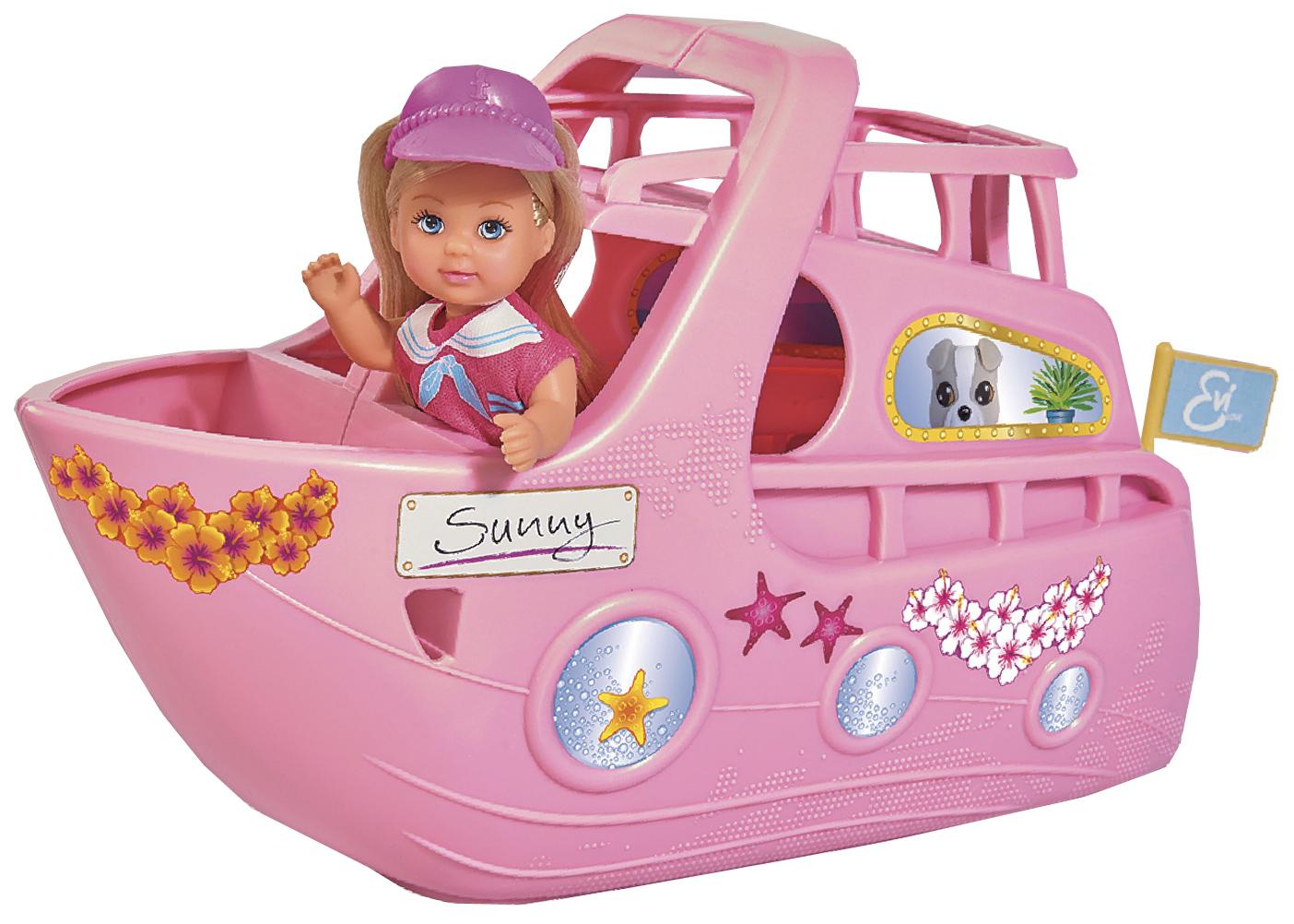 Купить На круизном корабле, Кукла Simba Ева на круизном корабле 5733083 12 см, Классические куклы