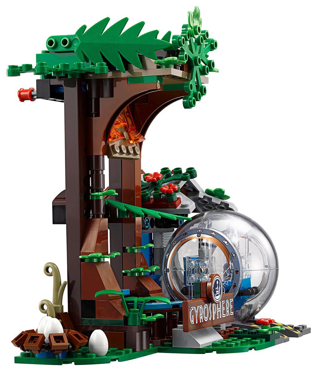 Конструктор LEGO Jurassic World Побег в гиросфере от карнотавра 75929 фото