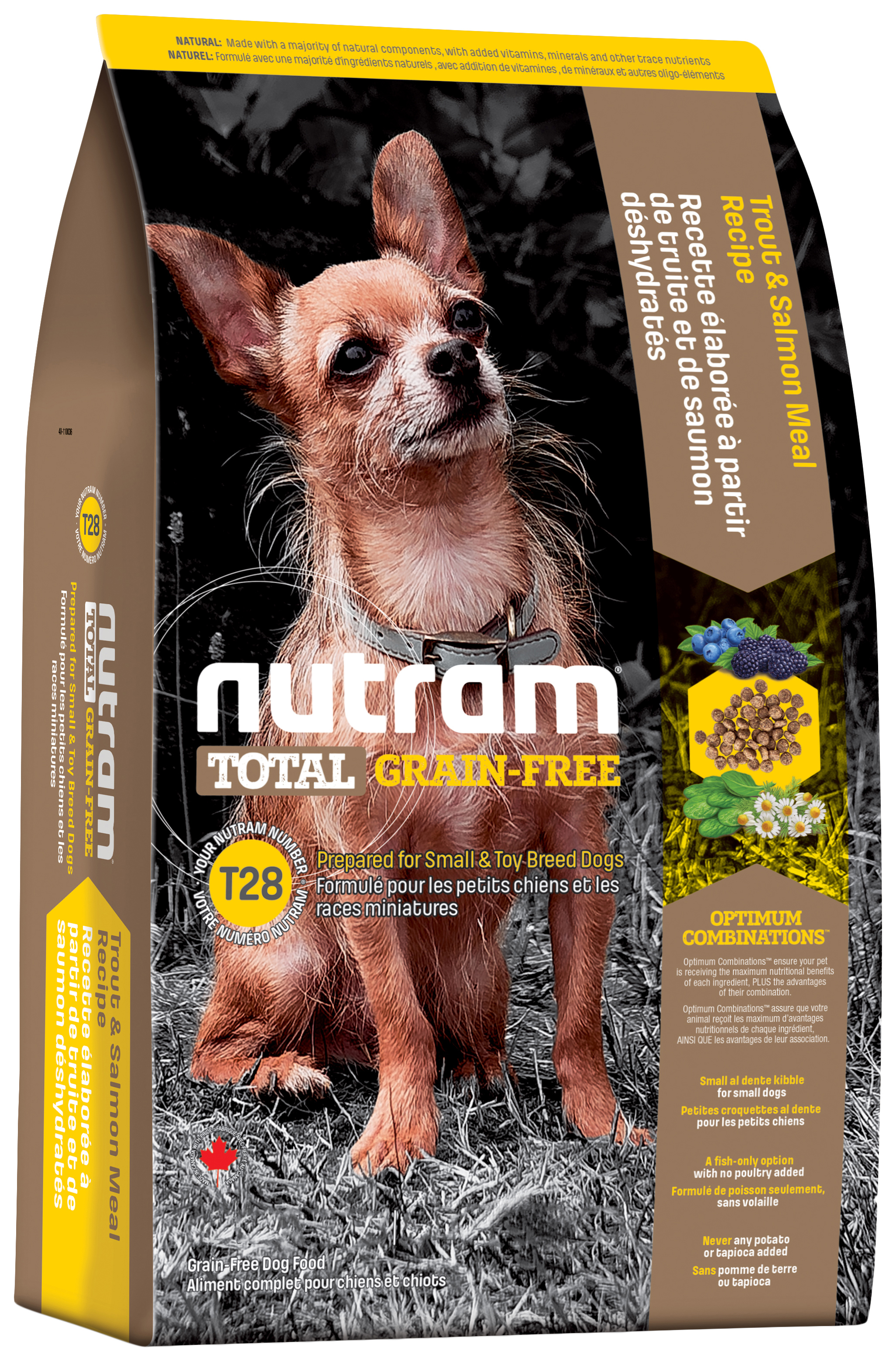 NUTRAM TOTAL GRAIN FREE SMALL#AND#TOY