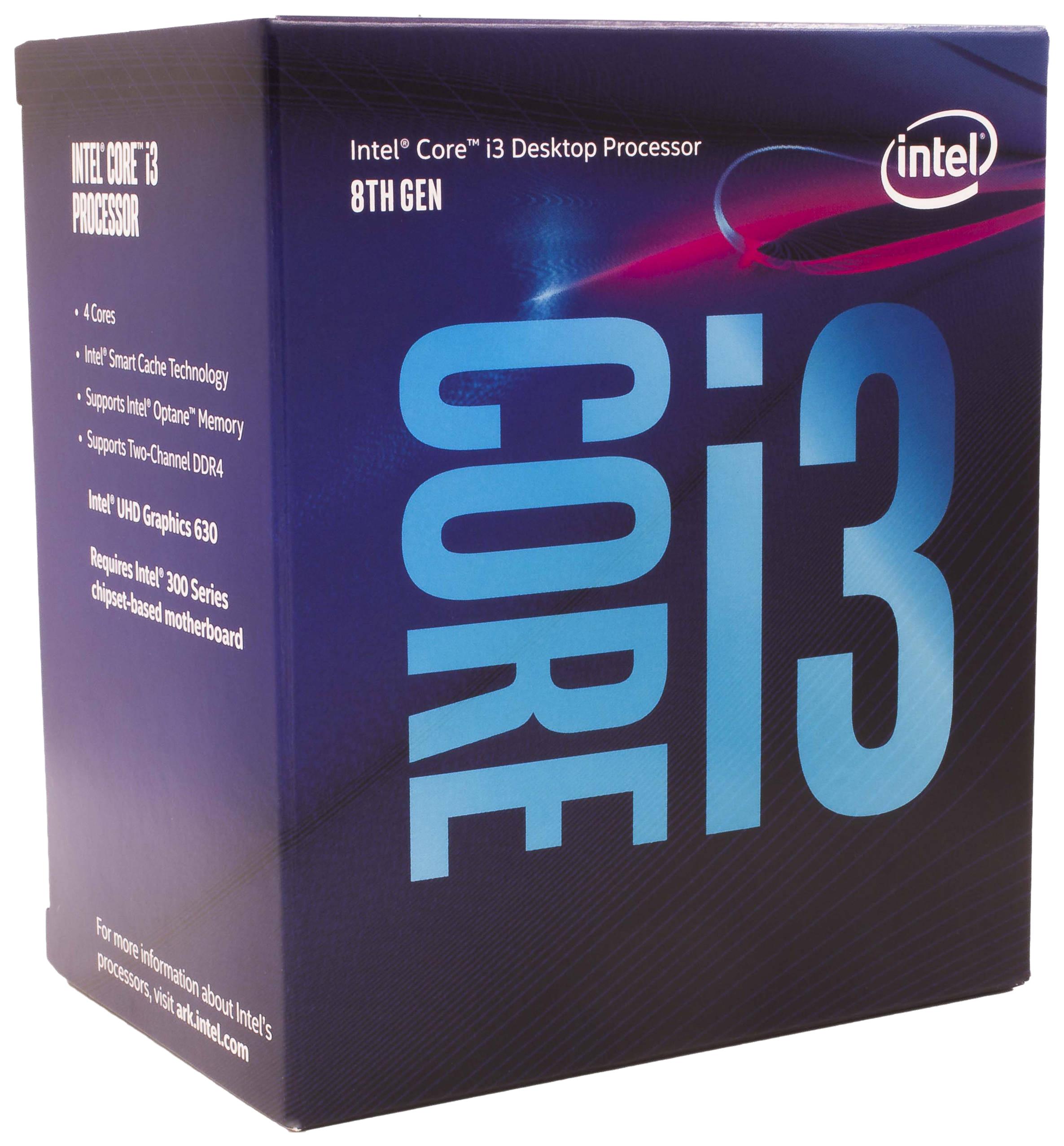 Процессор Intel Core i3 8300 Box, Core i3-8300 3.7 GHz (BX80684I38300)  - купить со скидкой