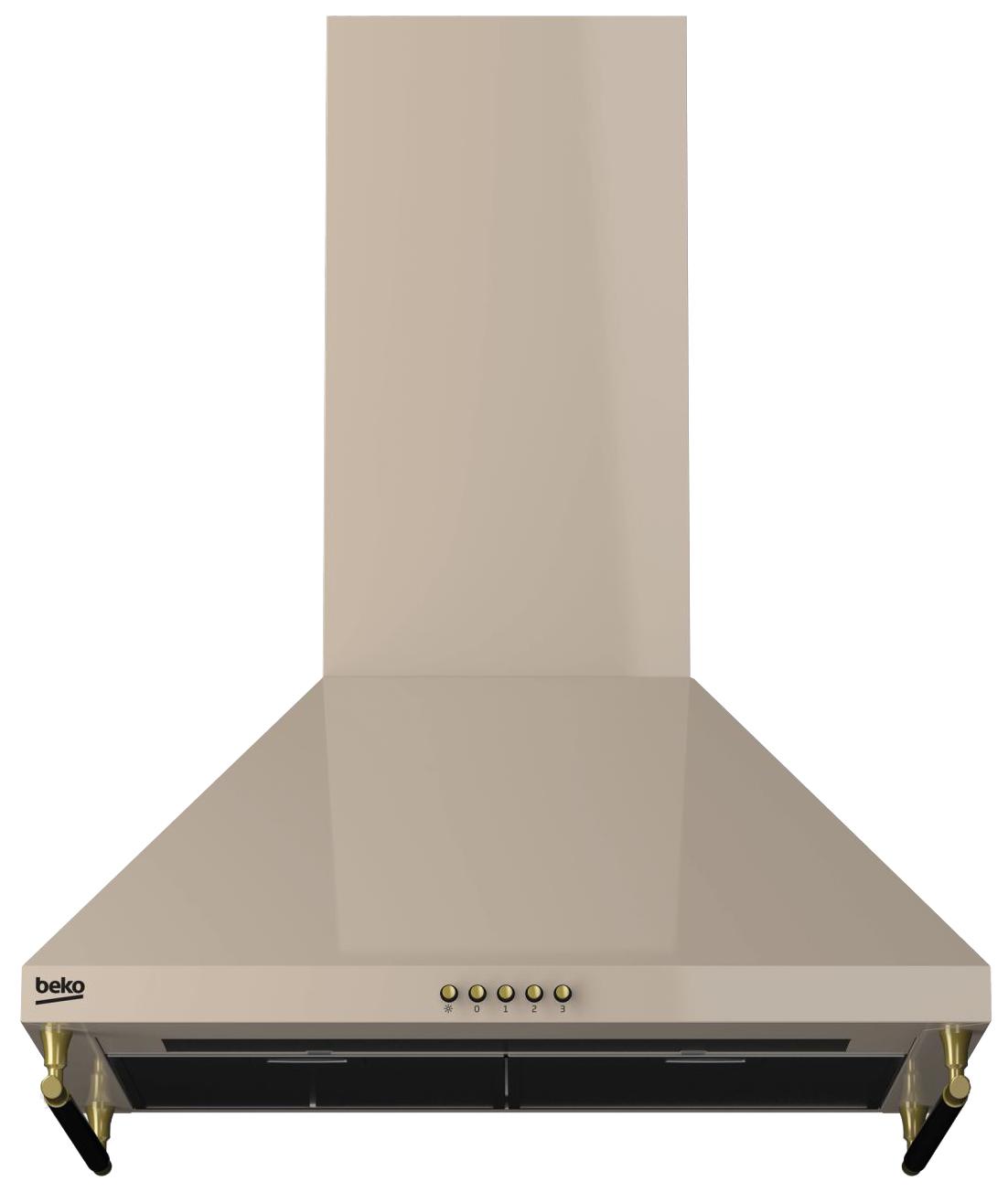 Вытяжка купольная Beko CWB 6410 CR Beige/Gold