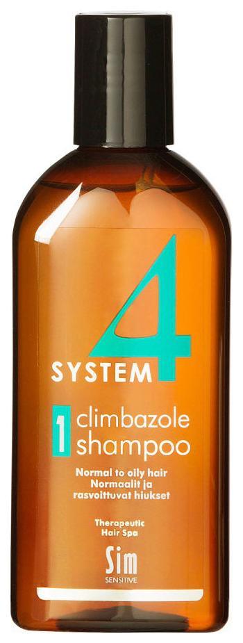 Шампунь Sim Sensitive System 4 №1 Для нормальных и склонных к жирности волос 215 мл