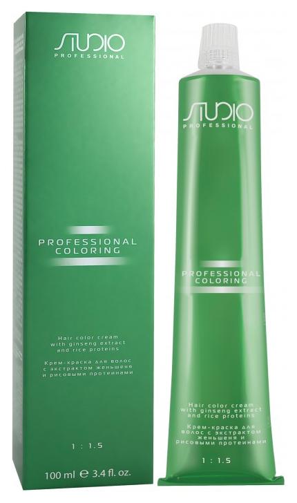 Краска для волос Kapous Professional Studio Professional 1.10 Иссиня-черный 100 мл