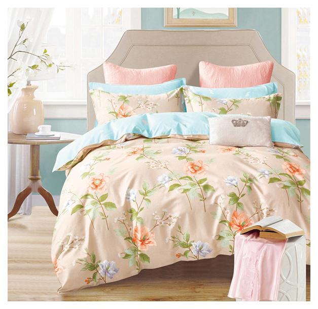 Комплект постельного белья Mioletto печатный сатин семейный