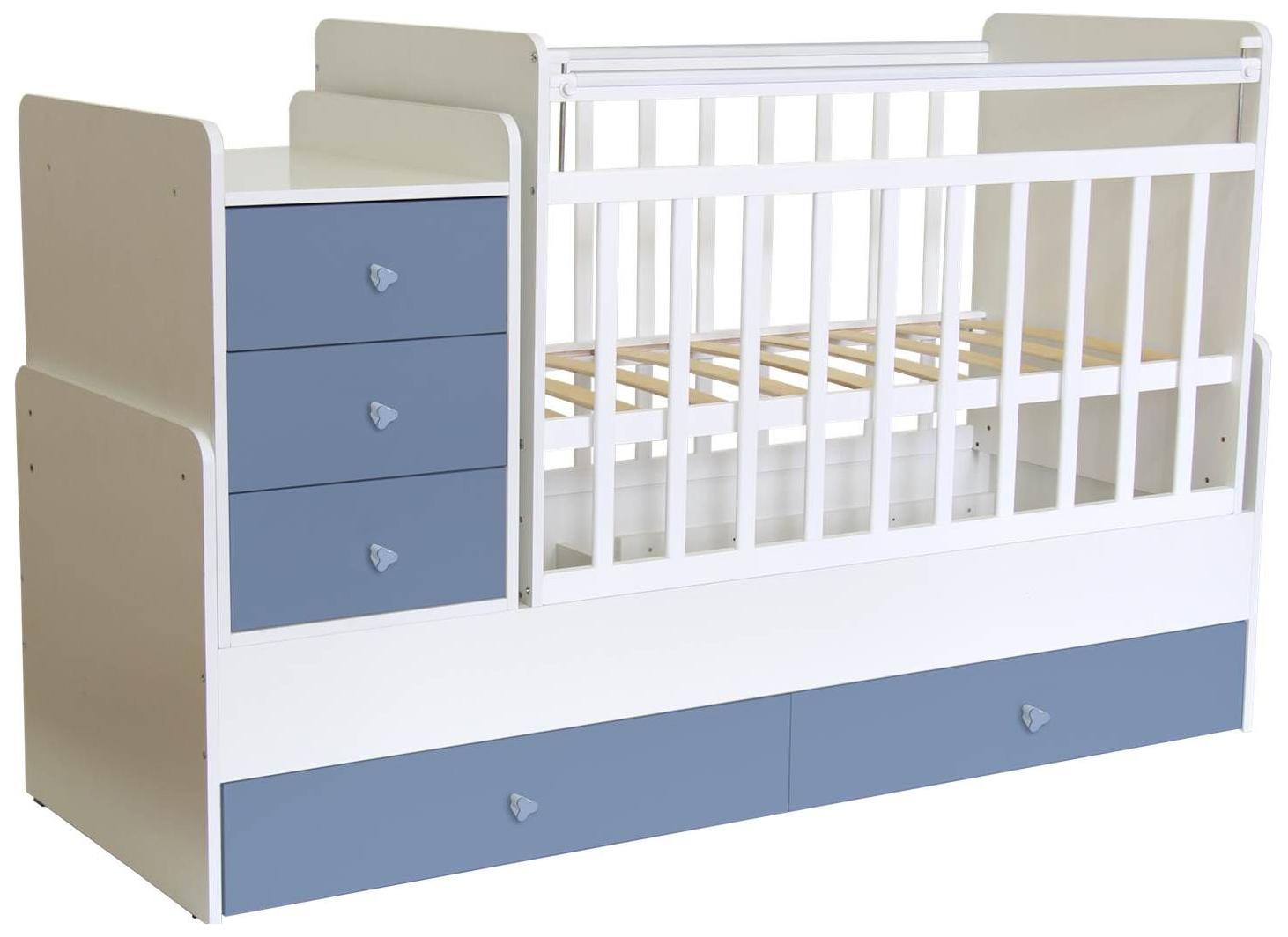 Кровать трансформер детская Polini Kids Simple 1111