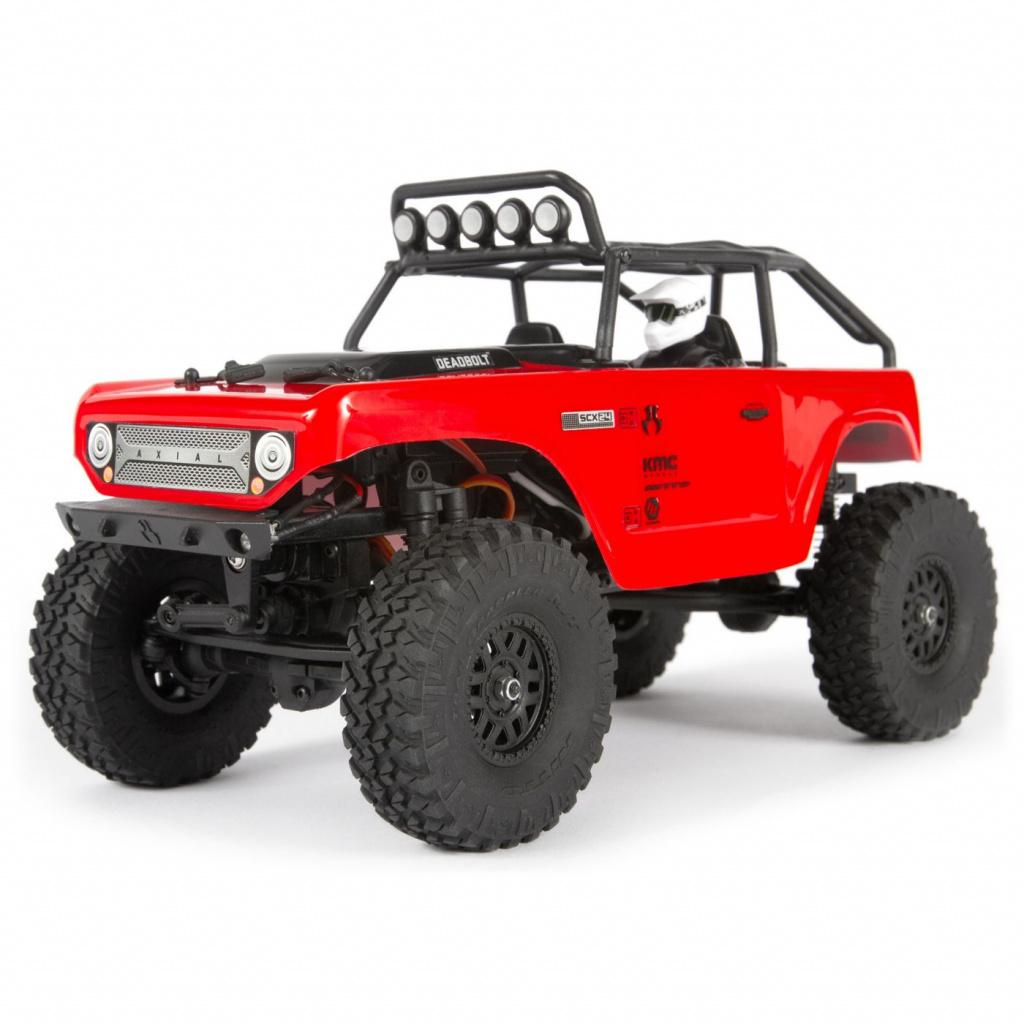 Купить Радиоуправляемая машинка Axial SCX24 Deadbolt 4WD RTR Red,