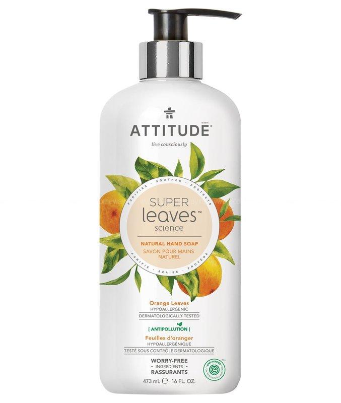 Жидкое мыло ATTITUDE Листья апельсина 473 мл