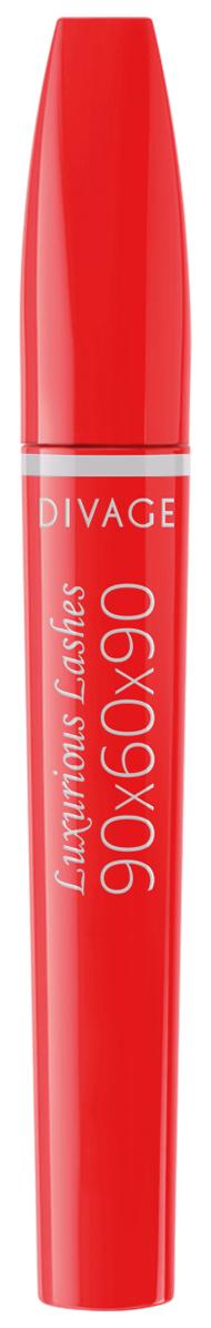 Купить Тушь для ресниц Divage 90x60x90 Luxurious Lashes №01 10 мл