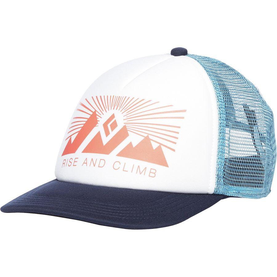 Кепка Black Diamond Trucker Hat женская белая