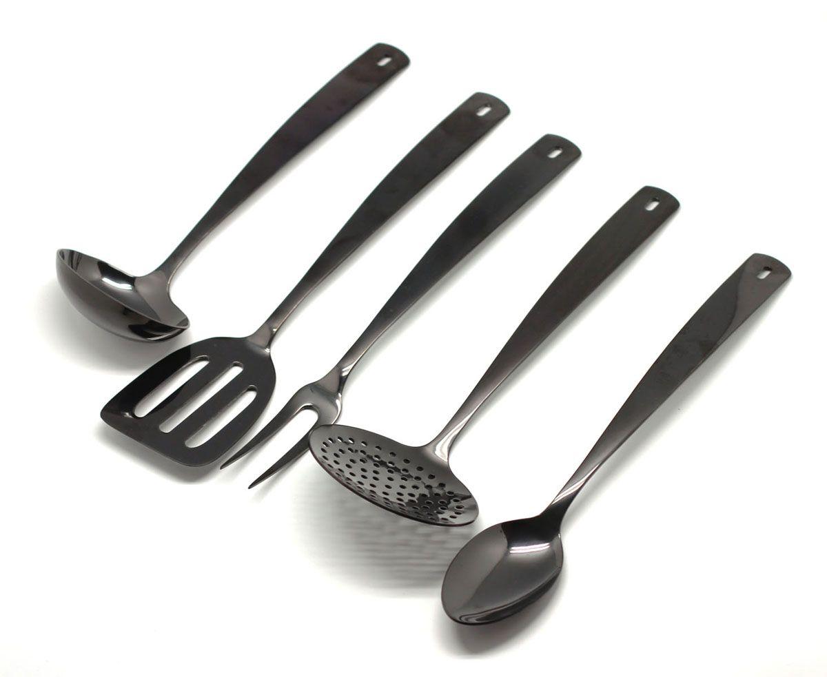 Набор кухонный HERDMAR Perugia Black 5 предметов (140800501170700001)