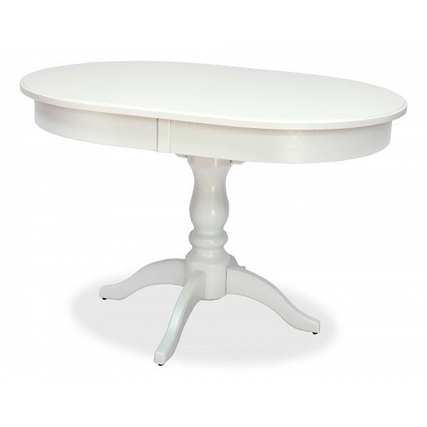 Кухонный стол Leset Стол обеденный Вермонт 2Р 120-160х84х76 см слоновая кость