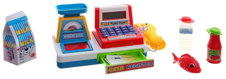 Детская касса Cash Register с LCD дисплеем
