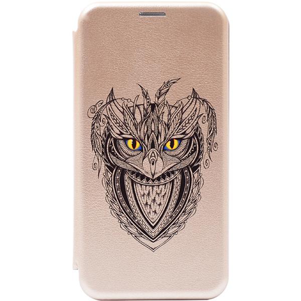 Чехол Gosso Cases для Huawei P Smart Z / Y9 Prime (2019) Gold «Grand Owl»