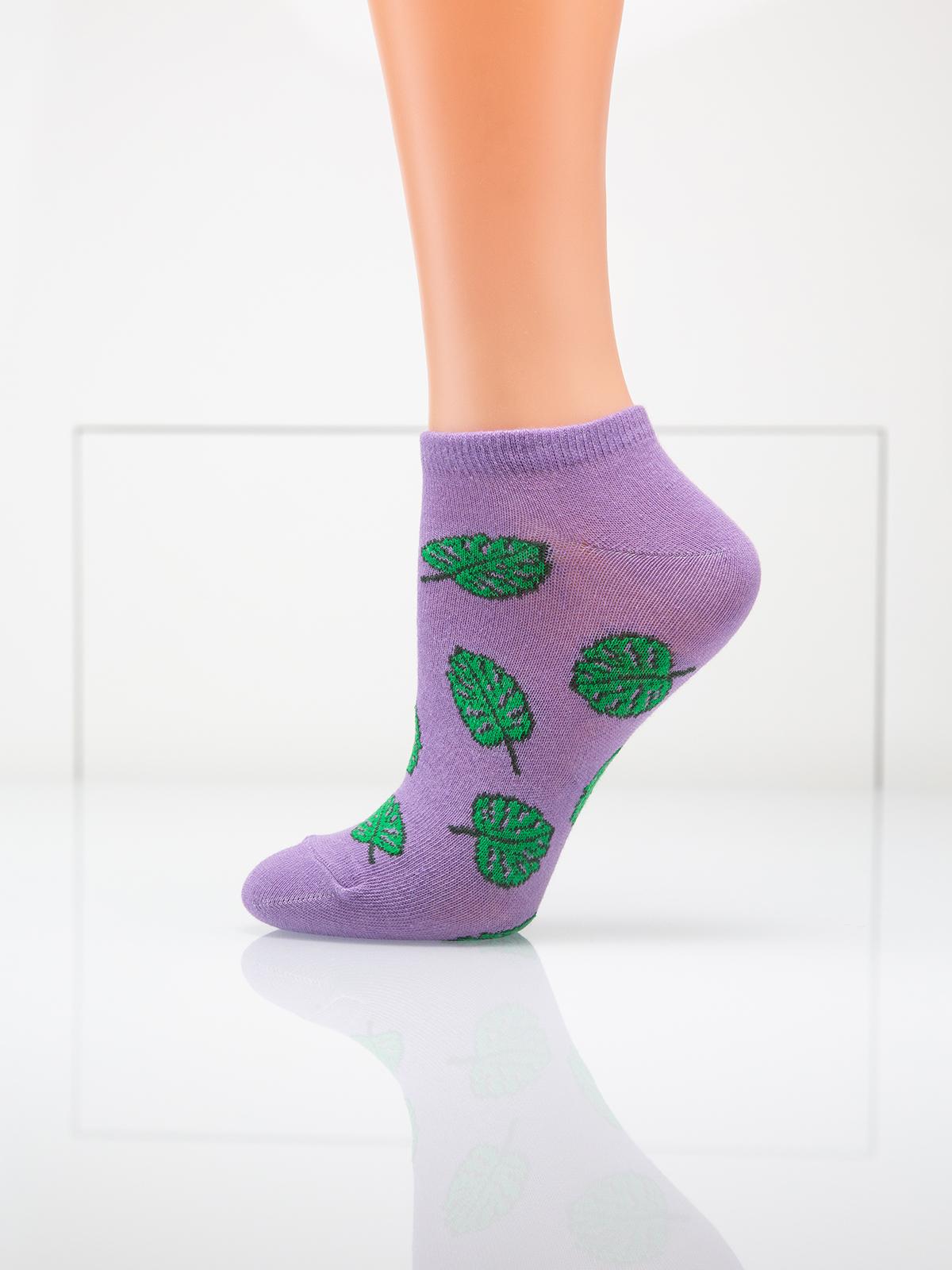 Носки женские Giulia фиолетовые 39-40