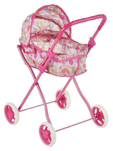 Купить Классическая коляска для кукол Melobo с козырьком Melobo, Коляски для кукол
