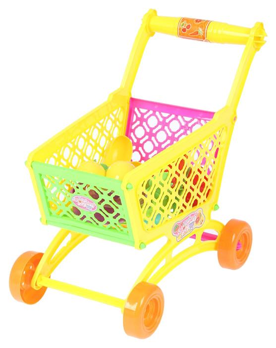 Купить Игровой набор Тележка с посудой , 9 предметов, Сима-ленд, Детские тележки для супермаркета