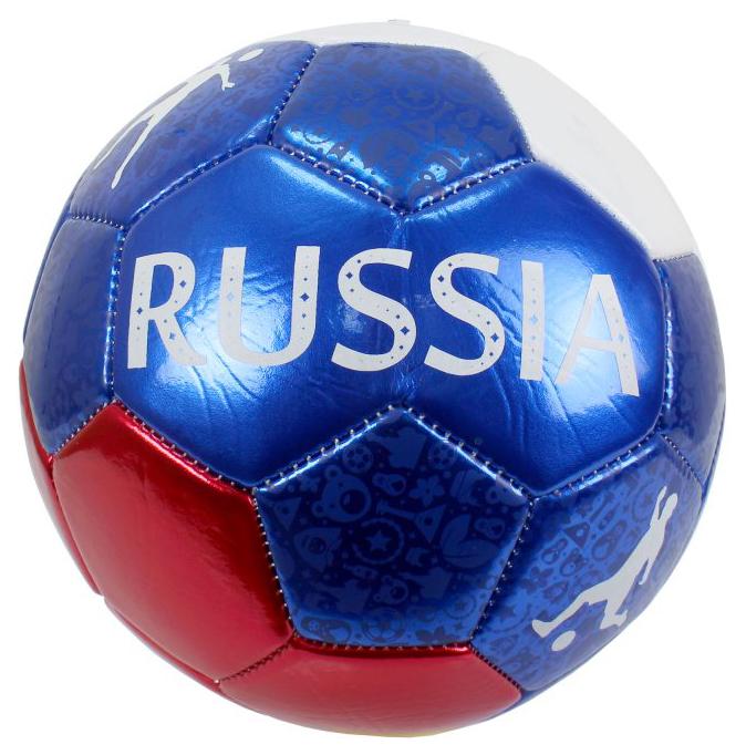 Купить 1 TOY Мяч футбольный Россия, ПВХ, 23 см Т15102,
