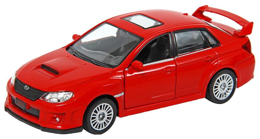 Купить Машина металлическая RMZ City 1:32 SUBARU WRX STI инерционная, Цвет Красный, Uni-Fortune, Игрушечные машинки