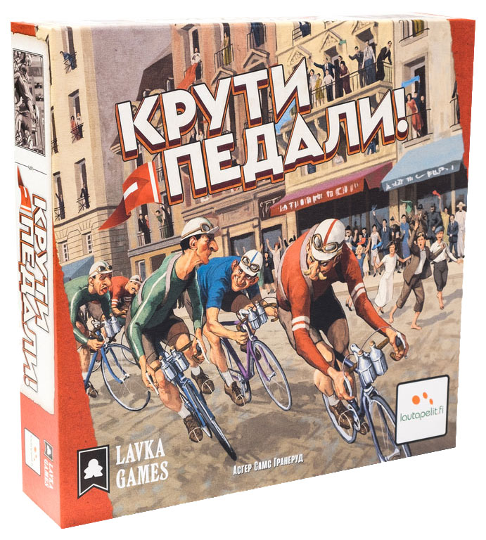 Купить Настольная игра Lavka Games Крути педали!,
