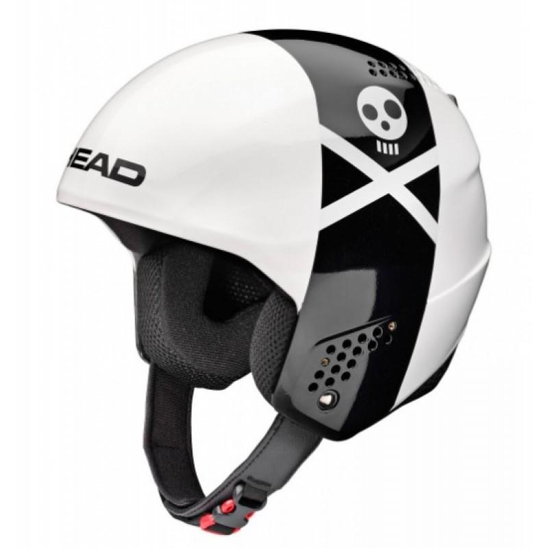 Горнолыжный шлем Head Taylor Rebels 2018 white/black, M/L фото