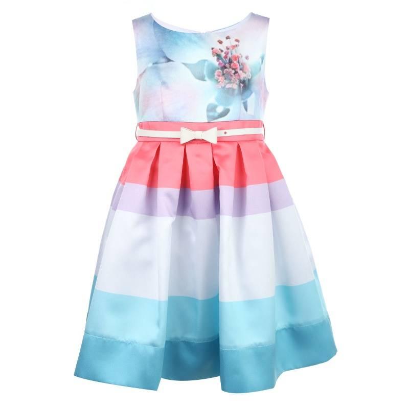 Купить Платье Палермо UNONA D'ART, цв. синий, 134 р-р, Детские платья и сарафаны