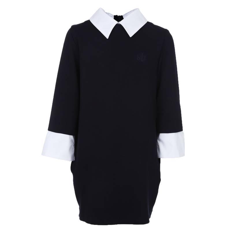 Купить Платье Смена, цв. темно-синий, 128 р-р, Детские платья и сарафаны