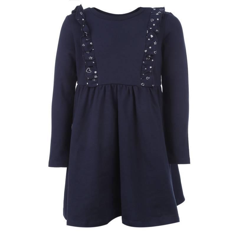 Купить Платье Goldy, цв. темно-синий, 128 р-р, Детские платья и сарафаны