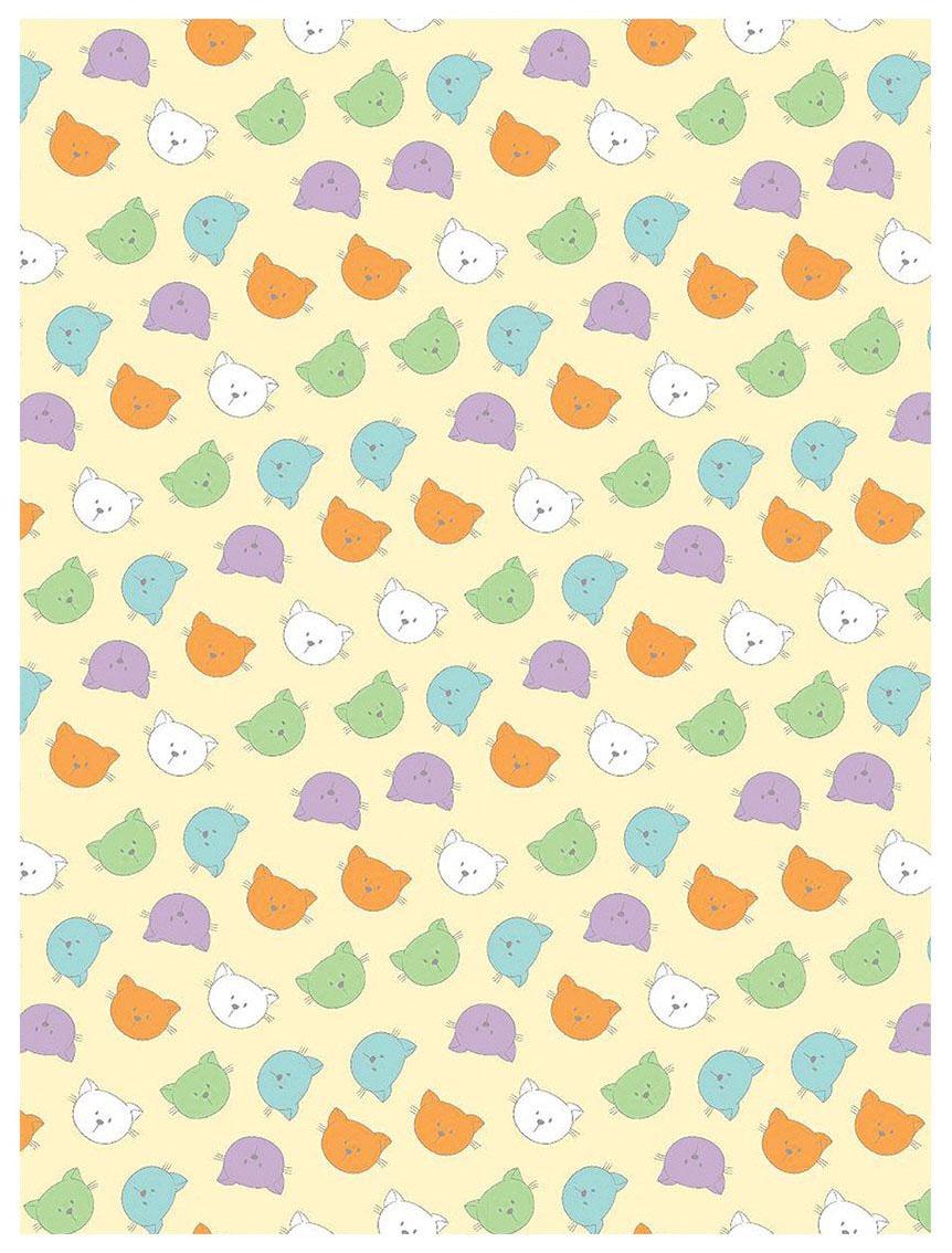 Плед-покрывало Baby Nice Разноцветные кошки 100x150
