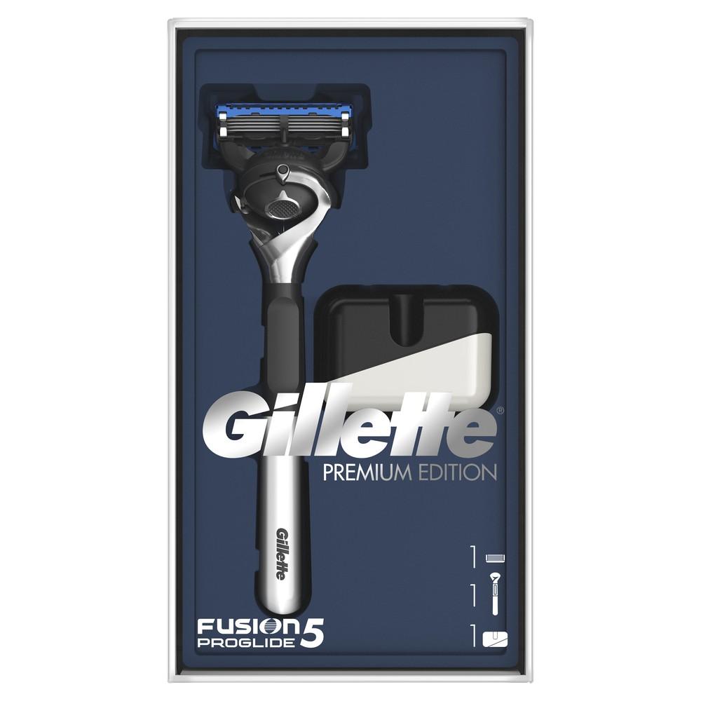 Подарочный набор Gillette Бритва Fusion5 ProGlide + подставка для бритвы