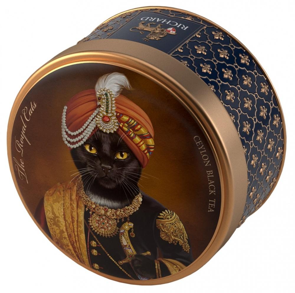 Чай Richard The Royal Dogs&Cats черный листовой 40 г фото