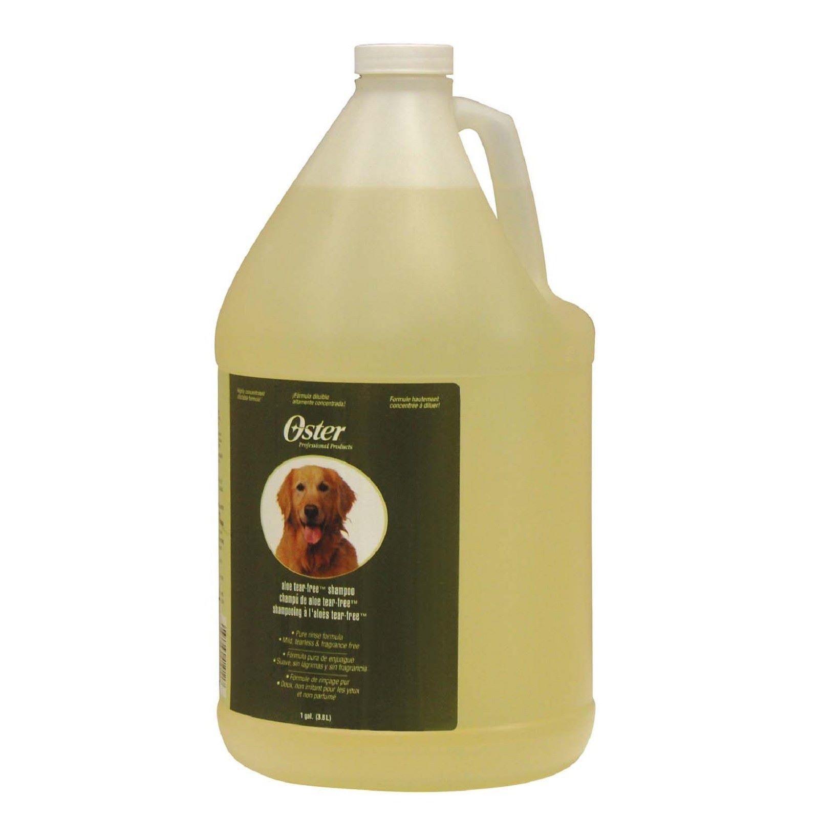 Шампунь для собак Oster Алое-вера без слез для чувствительной кожи, 3,8 мл, Алое-вера