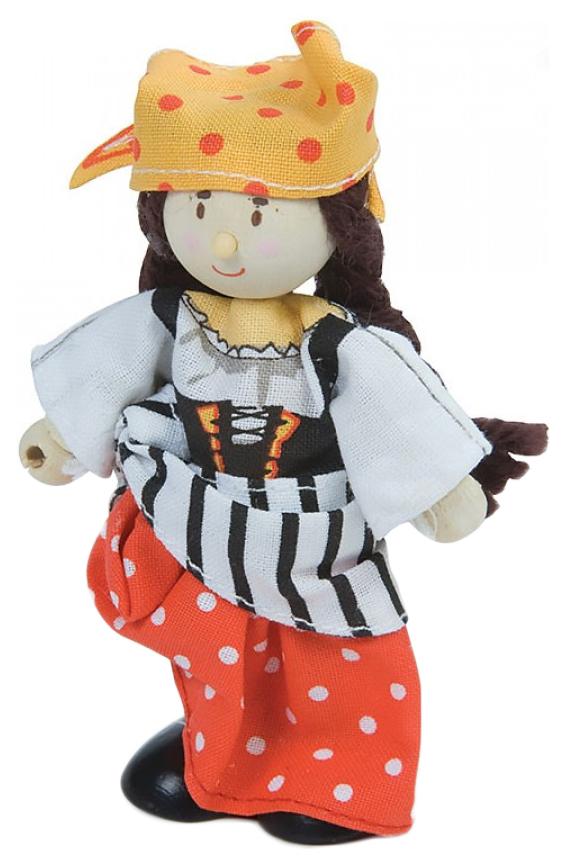Купить Кукла Le Toy Van Пиратка Джессика 10 см, Классические куклы