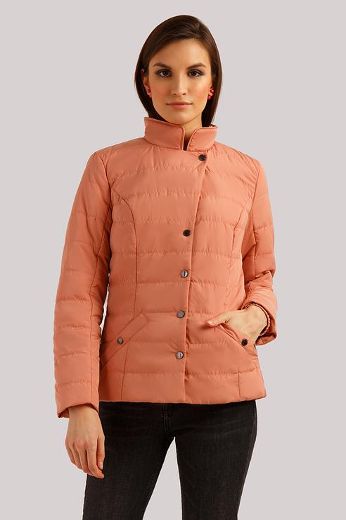 Куртка женская Finn Flare B19-11018 бежевая L фото