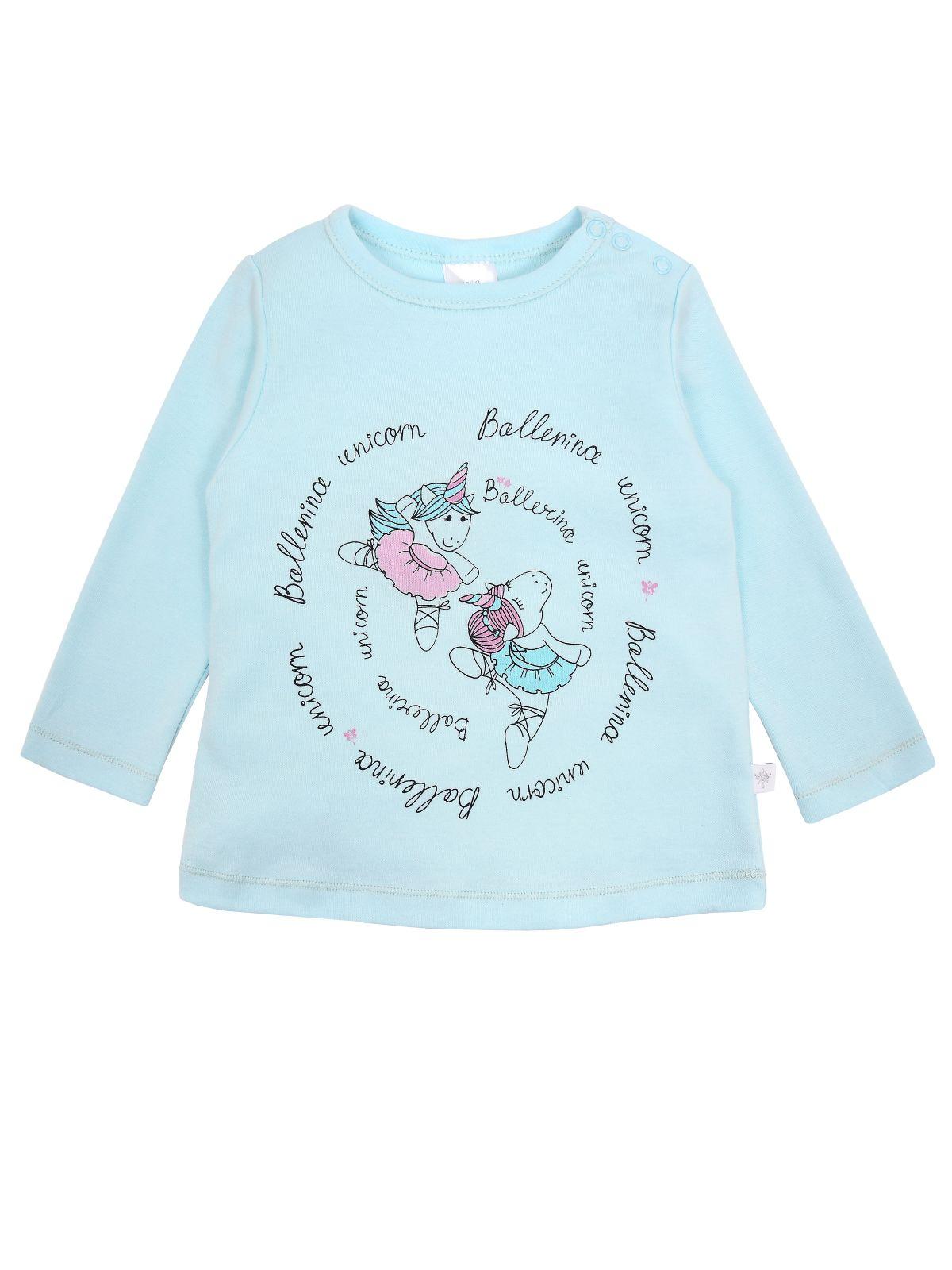 Купить Джемпер для девочки Мамуляндия 19-840 Интерлок, Св. бирюзовый р.92, Кофточки, футболки для новорожденных