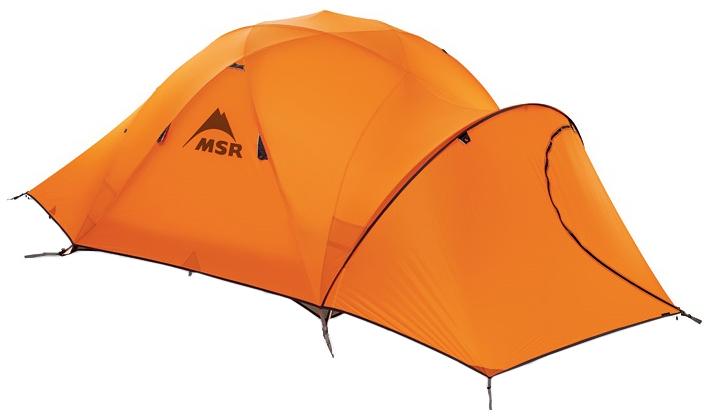 Палатка MSR Remote трехместная оранжевая
