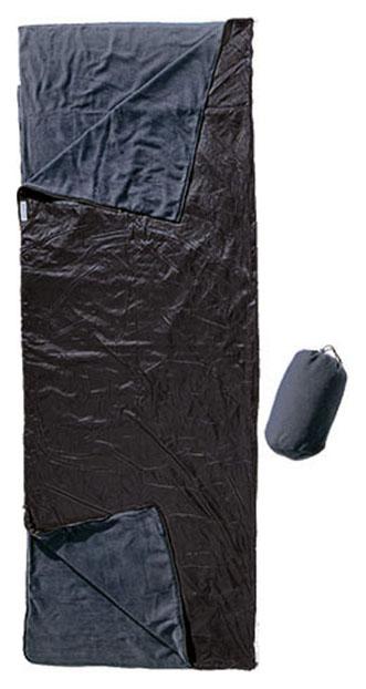Спальный мешок Cocoon Outdoor черный, правый
