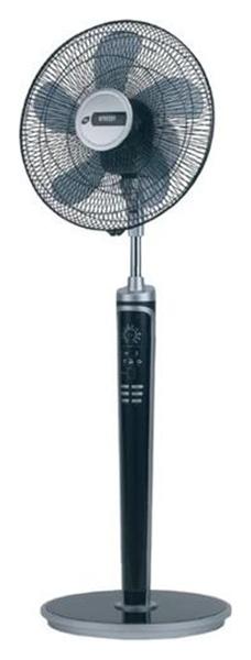 Вентилятор напольный MYSTERY MSF 2411 silver/black