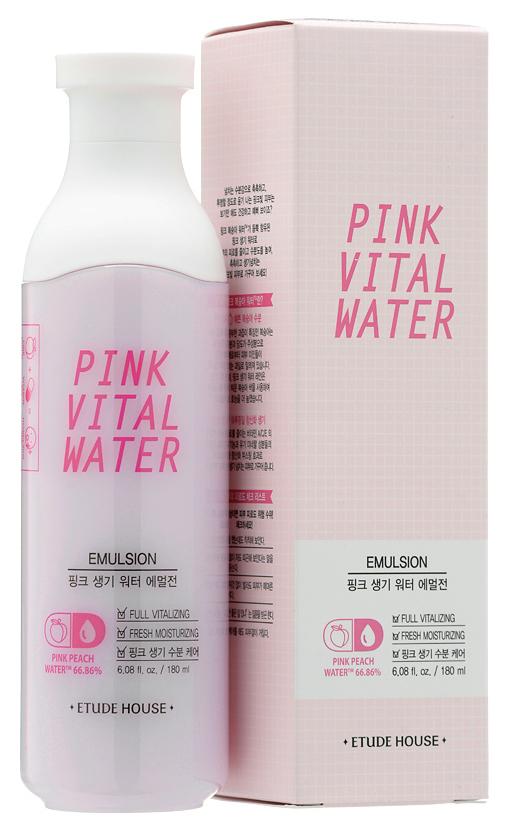 Эмульсия для лица ETUDE HOUSE Pink Vital Water Emulsion 180 мл