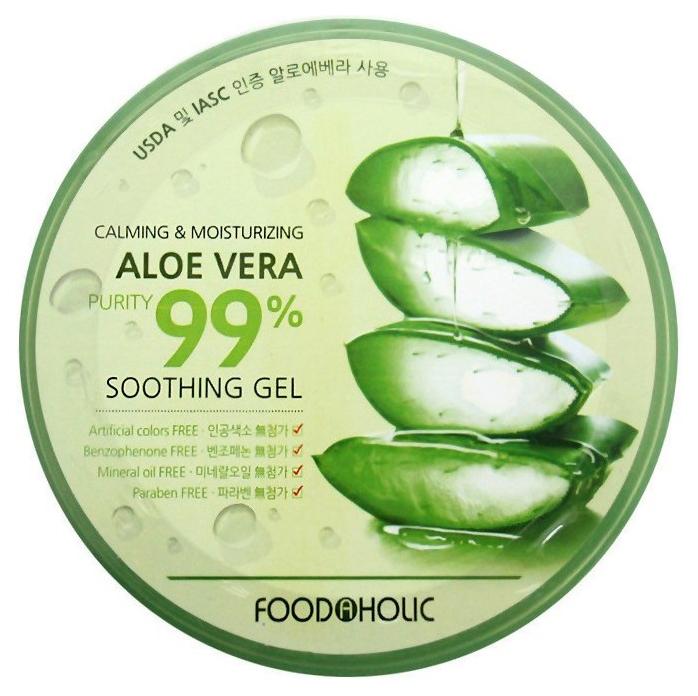 Гель для лица FoodaHolic Calming & Moisturizing