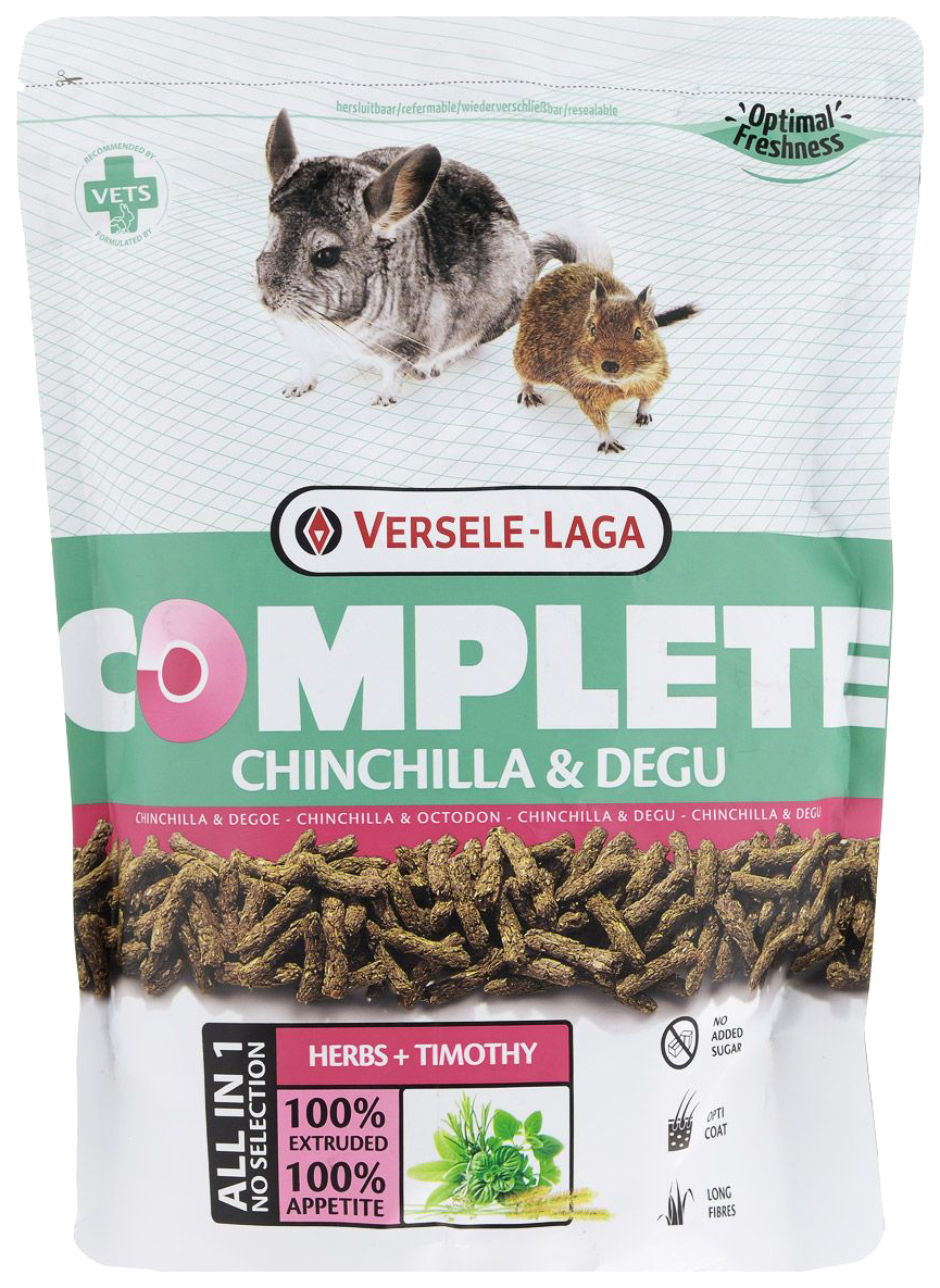 Корм для шиншилл, дегу Versele-Laga Complete 0.5 кг 1 шт