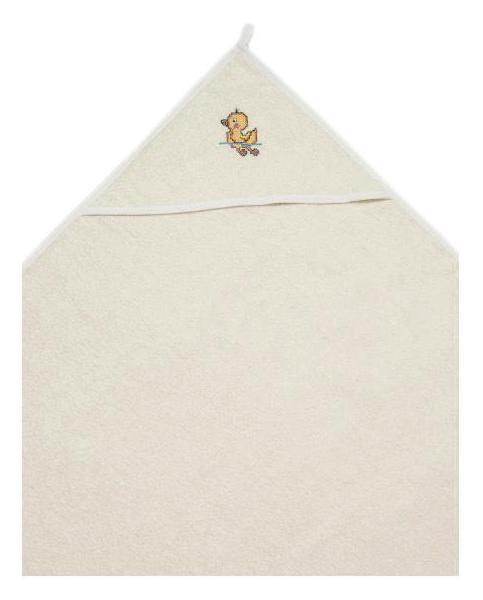 Пеленка Сонный гномик махровая для купания Утя молоко