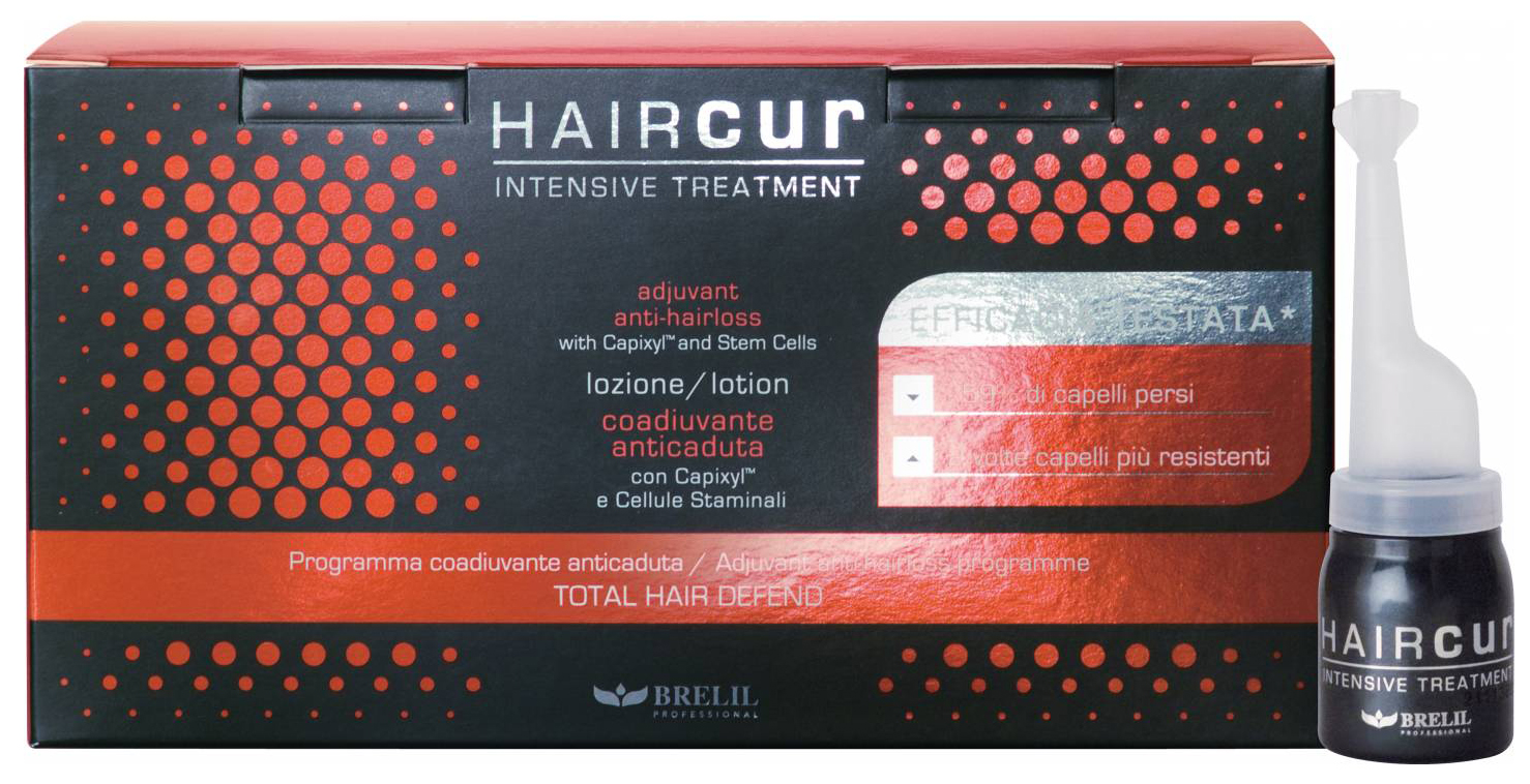 Лосьон для волос Brelil Hair Cur Lotion 10*6