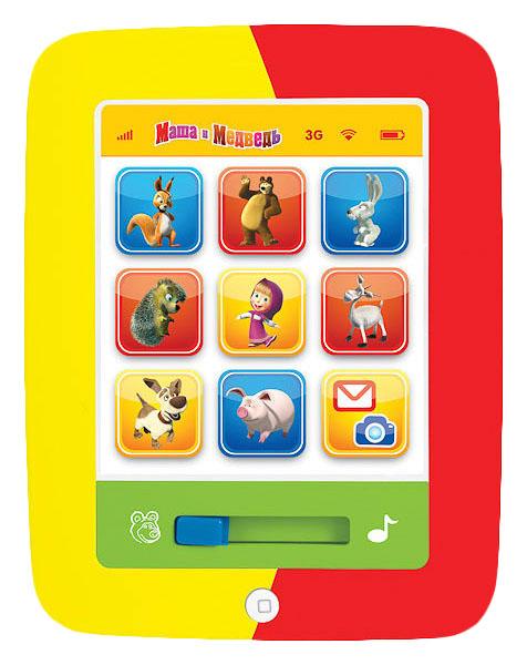 Интерактивная игрушка Умка Маша и медведь Мой первый планшет