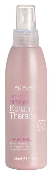 Молочко для волос Alfaparf Lisse Design Keratin