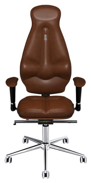 Офисное кресло Kulik System Galaxy, экокожа, Коричневый