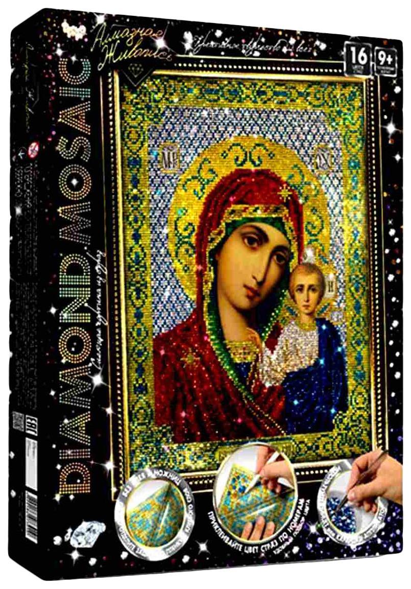 Алмазная мозаика Алмазная живопись Diamond Mosaic с подрамником №9 DM-01-09