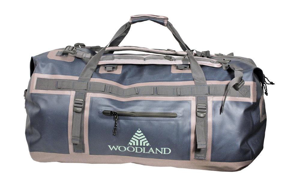 Герморюкзак WoodLand Dry Bag 120 л черный/коричневый