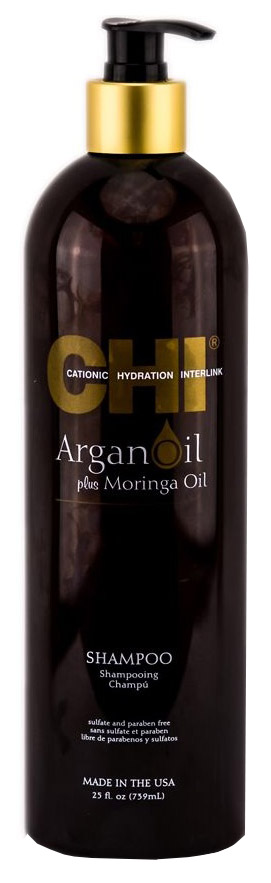 Купить Шампунь с экстрактом масла арганы и дерева моринга Chi Argan Oil 739 мл