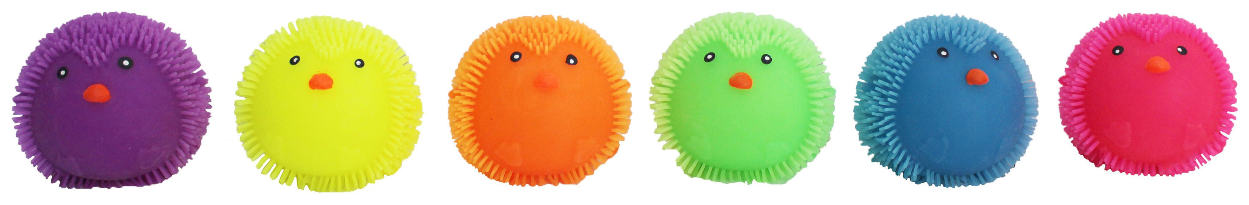 Купить Игрушка антистресс 1TOY Ё-Ёжик Пингвин 8 cм со светом, 1 TOY, Мягкие игрушки антистресс