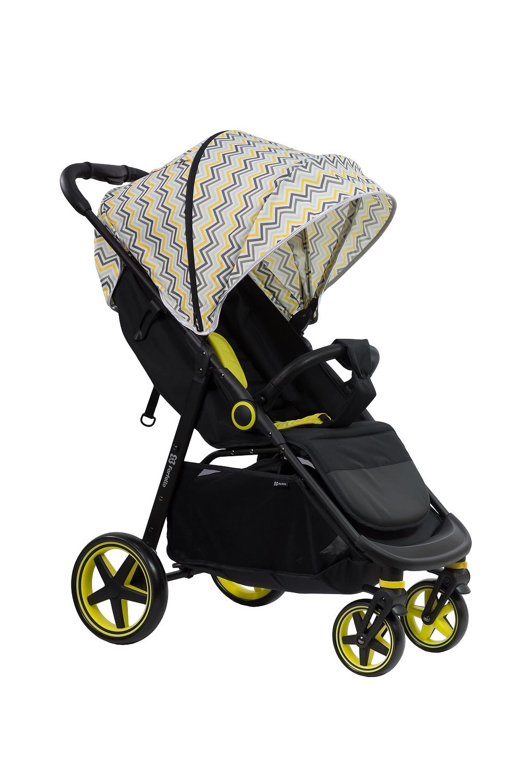 Купить Коляска детская прогулочная Farfello ZIGZAG желтый зигзаг арт.Z1, Коляски книжки